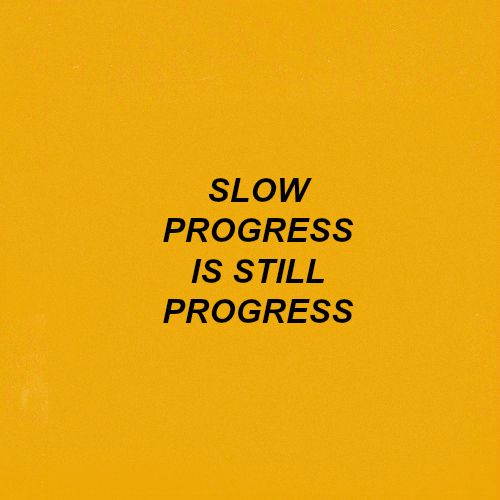 no matter how slow forward is forward