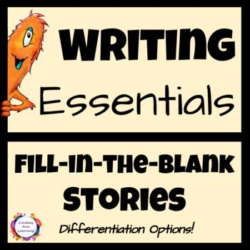 Teach or review grammar and sentence structure with these highly-engaging writing activities  for high school English language arts.  Students will use phrases and clauses, as well as sentence parts to fill-in-the-blanks for each activity. In the end, a wacky story will be created that students will enjoy sharing with each other.