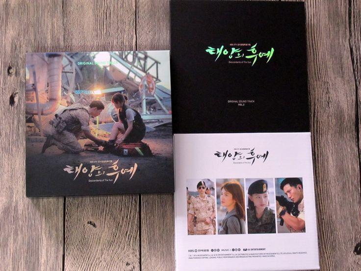 Песня Joongki сон хе ке автограф подпись с ручкой 2016 официальный потомки солнца ост CD + автограф плакат часть 2