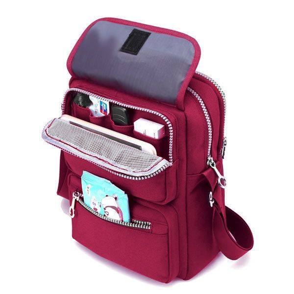 Women Nylon Travel Passport Bag Crossbody Travel Bag Useful Shoulder Bag   #women  #bags #fashion
