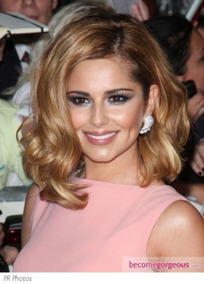 curling styles for hair cheryl cole curly bob hairstyles pictures design 9885