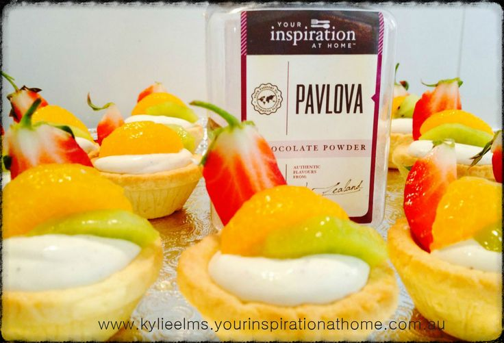 Little treats for morning tea today Delicious YIAH Pavlova Mousse and Fruits... www.kylieelms.yourinspirationathome.com.au