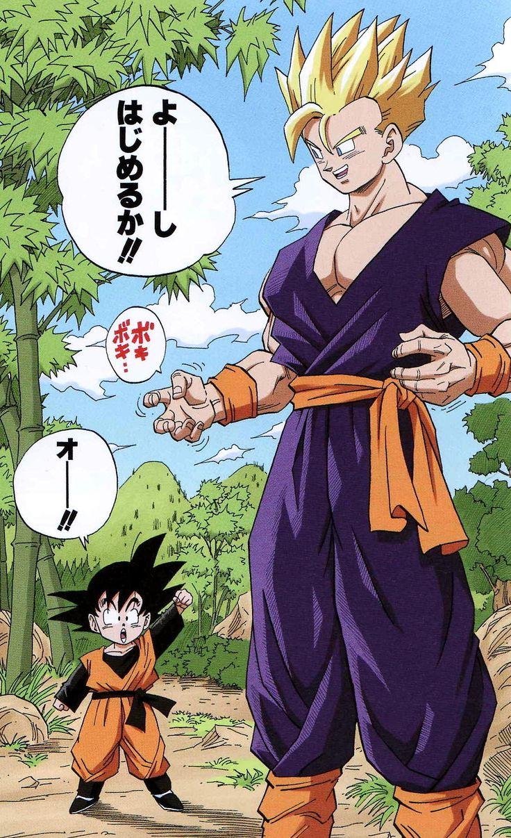 Son Goten y Son Gohan Dragon Ball