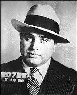 Al Capone (January 17, 1899 – January 25, 1947), commonly nicknamed Scarface, was an American gangster who led a streaking [1]crime syndicate dedicated to smuggling and bootlegging of liquor and other illegal activities during the Prohibition Era of the 1920s and 1930s.