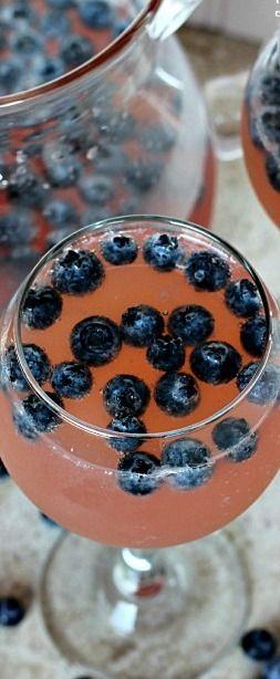 Blueberry Sangria & Godiva Girls Flight Night Party! - Julie's Eats & Treats
