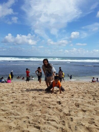 Me at Indrayanti Beach