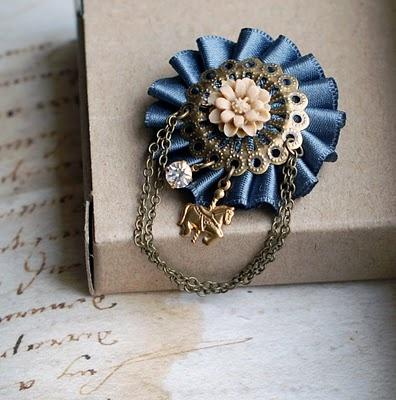 Sumiko Handmade Creations Charlotte Brooch Carousel
