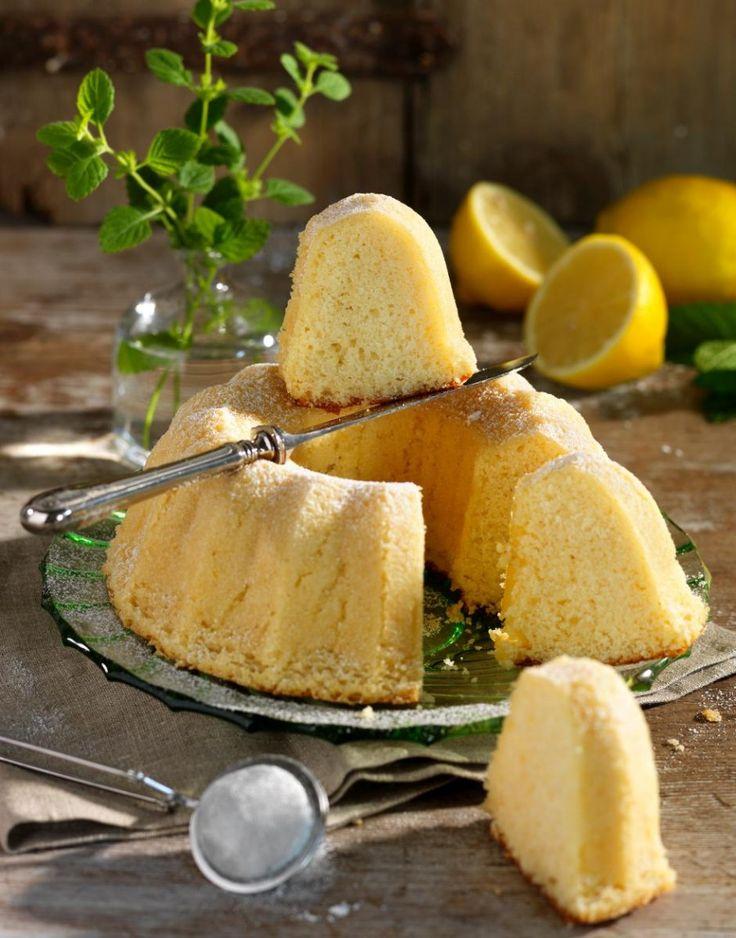 Sockerkaka med smak av citron