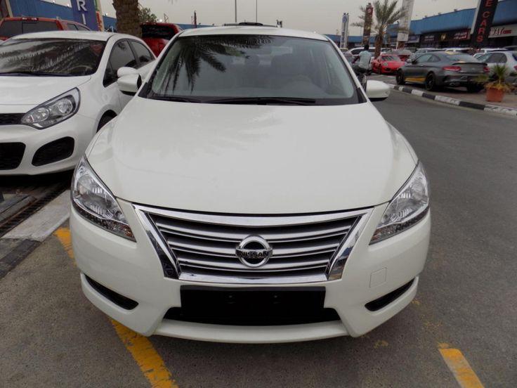 NISSAN SENTRA 2015 WHITE GCC SPEC Nissan sentra, Nissan