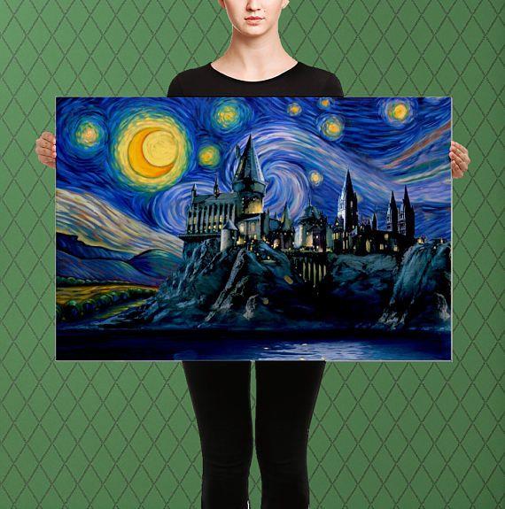 Inspirado en Harry Potter Hogwarts el castillo de Hogwarts