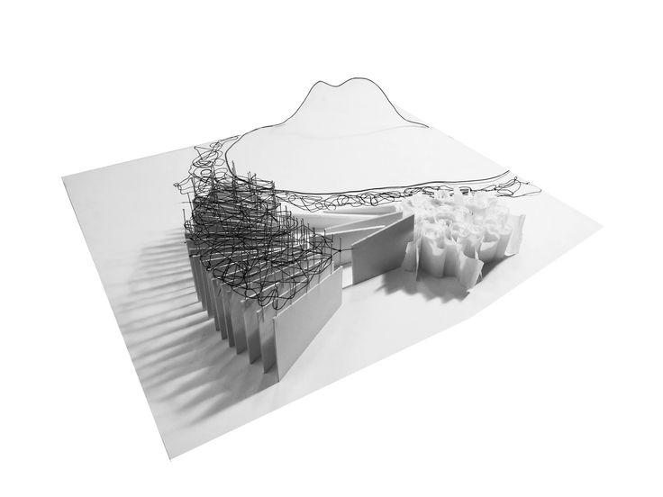 Recording perception - Pedamentina di San Martino, Naples, Italy #architecture #conceptual #model #maquette