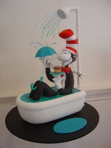 Cat in the Hat cakeHats Cake, Character Cake, Parties Ideas, Eating Cake, Dr. Seuss, Awesome Cake, Birthday Cake, Dr. Suess, Seuss Cake