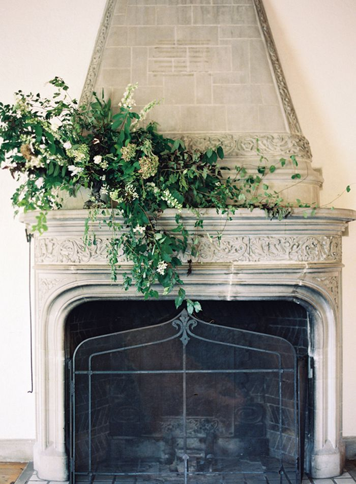 Mantel Amp Fireplace Designs Over At Botanical Brouhaha Blog