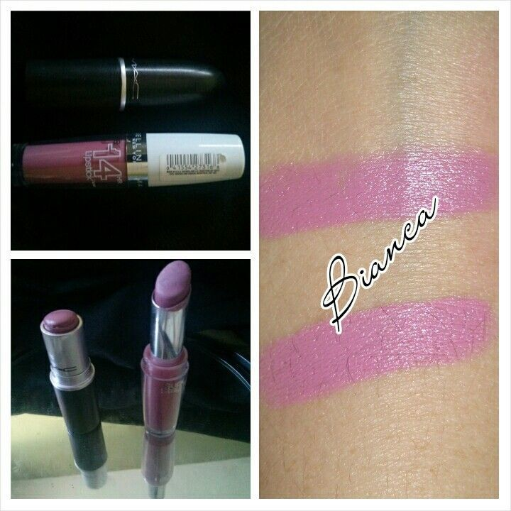 Dupe for MAC snob is Maybelline super stay 14hr in the shade perpetual peony.