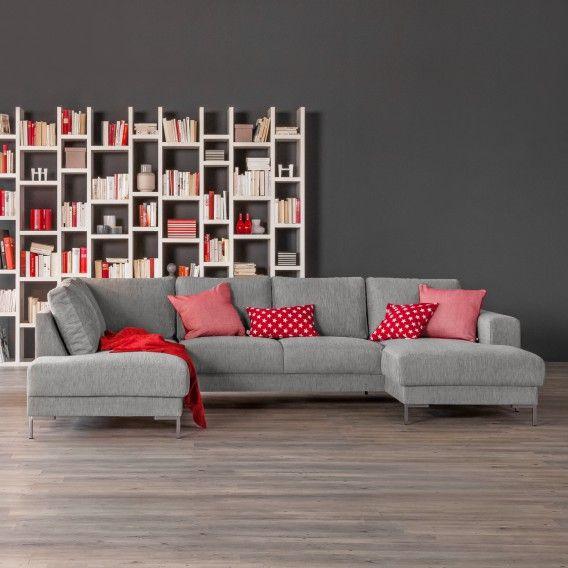 93 sofas ledersofa design wohnzimmertisch prato mit led for Wohnlandschaft unter 3 meter