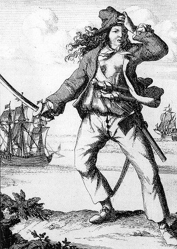Mary Read: English Pirate. She & Anne Bonny are Two of the Most Famous Female Pirates of All Time; the only two women known to have been convicted of piracy during early 18th century, at height of the Golden Age of Piracy. ~Repinned Via Sparky StTimexx    Wikipedia http://www.bing.com/images/search?q=mary+read+female+pirate&view=detail&id=015A13470D53F47AC4252B2F2A51AF85DAFEF7A1