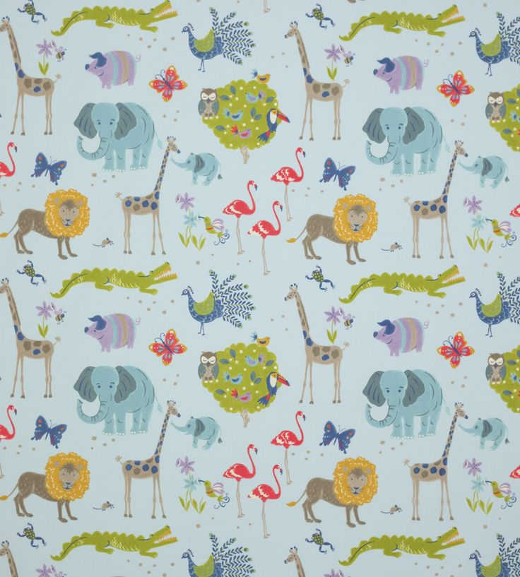 How To Style | Boys Rooms | Wild Things Fabric by Jane Churchill | Jane Clayton