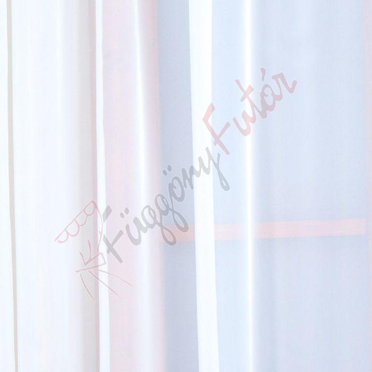 Fehér színű voile függöny, 300 cm | FüggönyFutár Webáruház