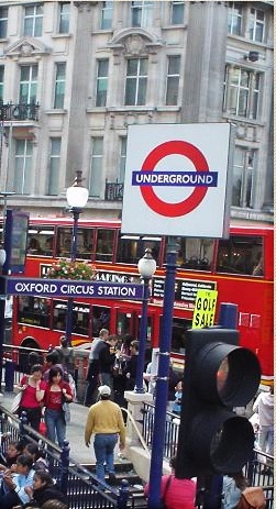 Oxford Circus Station, London