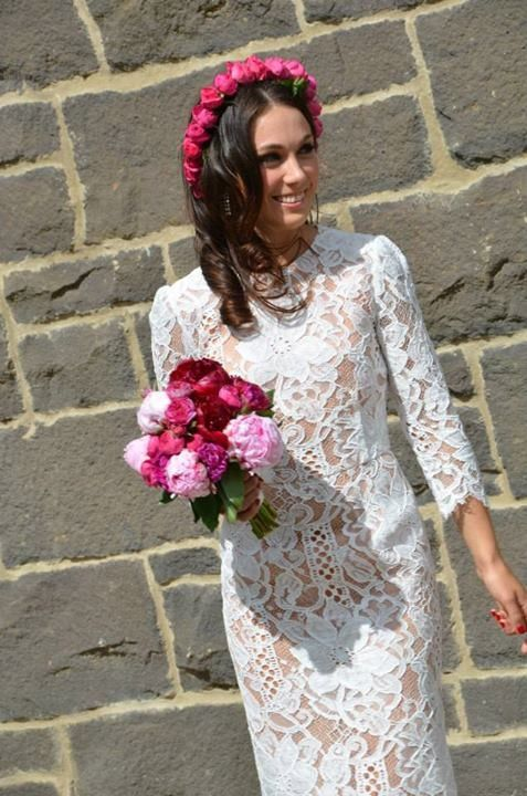 13 best images about wedding on pinterest lace wedding for Dolce gabbana wedding dress