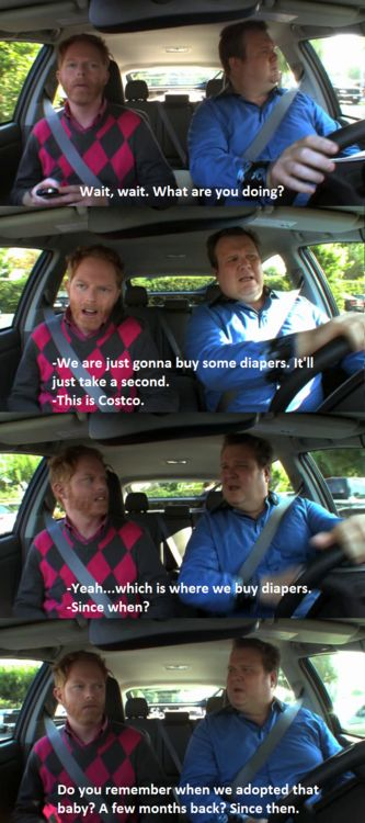 I don't watch the show, but this is funny! modern family quotes | Tumblr