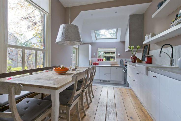 ... over Keuken op Pinterest - Google, Beton hout en Keuken wit