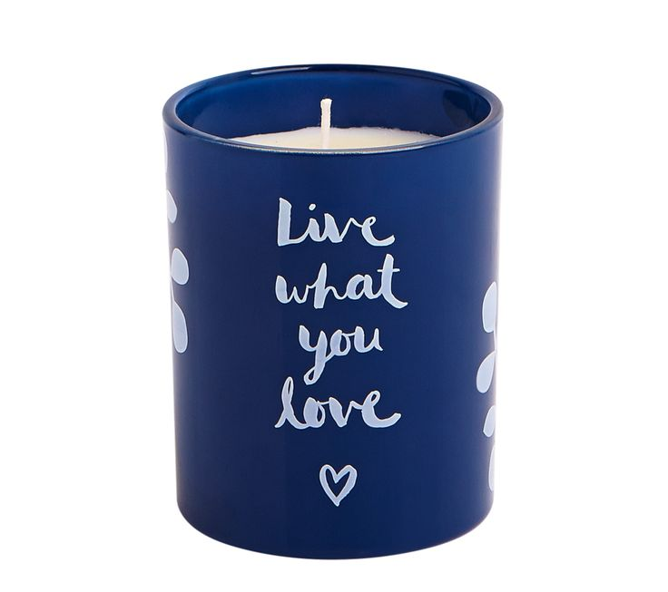 Be inspired with this Live What You Love Scented Candle
