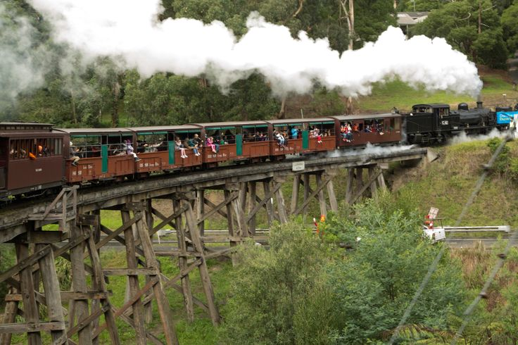 Puffing Billy. Dandenong Ranges, Melbourne