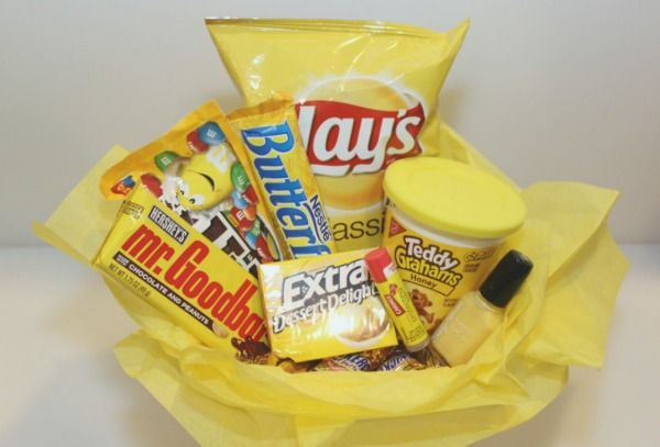 """This """"basket of sunshine"""" is sure to brighten someone's day!"""