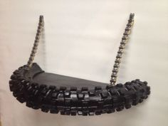 dirt bike tire shelf