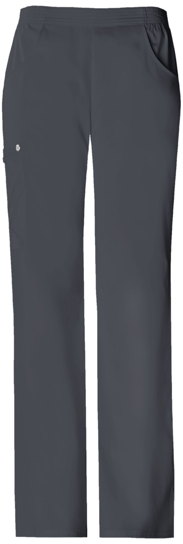 This Cherokee scrub pant is a flattering, mid-rise pull on! Find it at The Uniform Outlet!