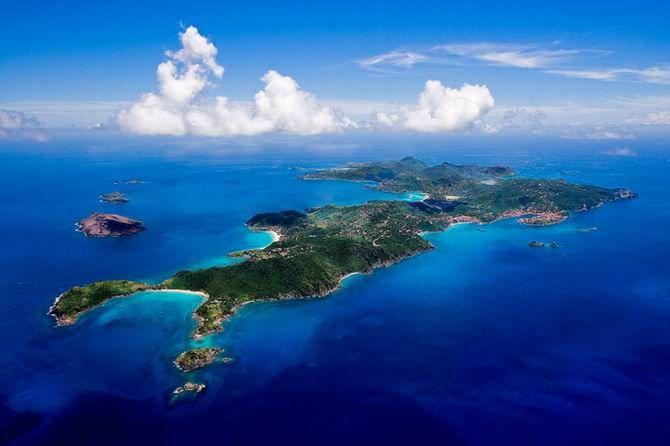Saint Barthélémy, Caraïbes