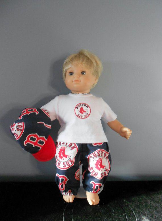 Bitty Baby Boston Red Sox's by DollFashionsbyLinda on Etsy
