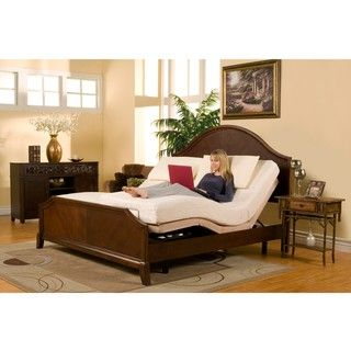 Sleep Zone Premium Adjule Bed And Split King Size Memory Foam Mattress Set Ping Great Deals On Mattresses