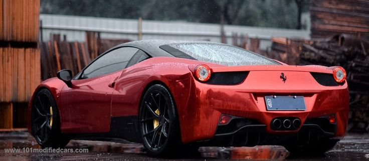 101 Modified Cars - Modified Ferrari 458 Italia