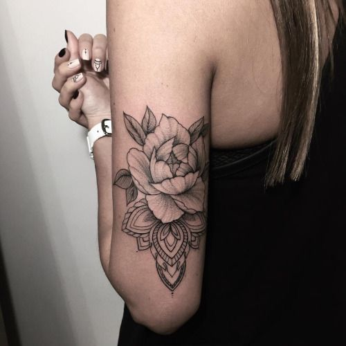 #ink #roses