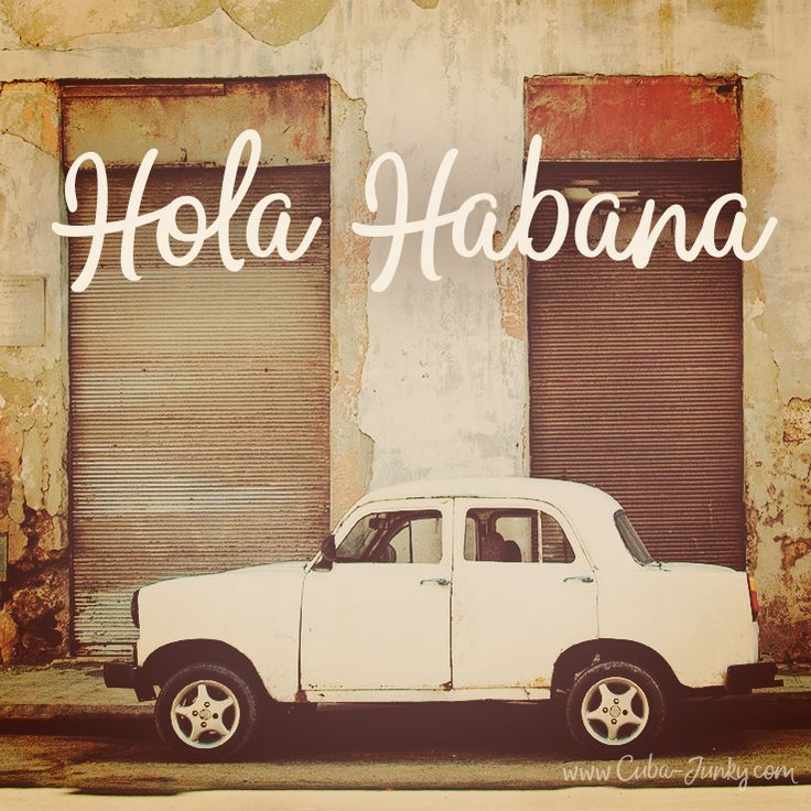 Hola Habana - #havana #cuba http://www.cuba-junky.com/havana/havana-city.htm