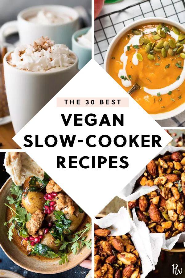 The 45 Best Vegan Slow Cooker Recipes Vegan Slow Cooker Recipes Vegan Slow Cooker Vegan Crockpot Recipes