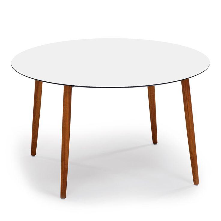 17 best ideas about Tisch Rund Weiß on Pinterest  -> Couchtisch Rund Teak