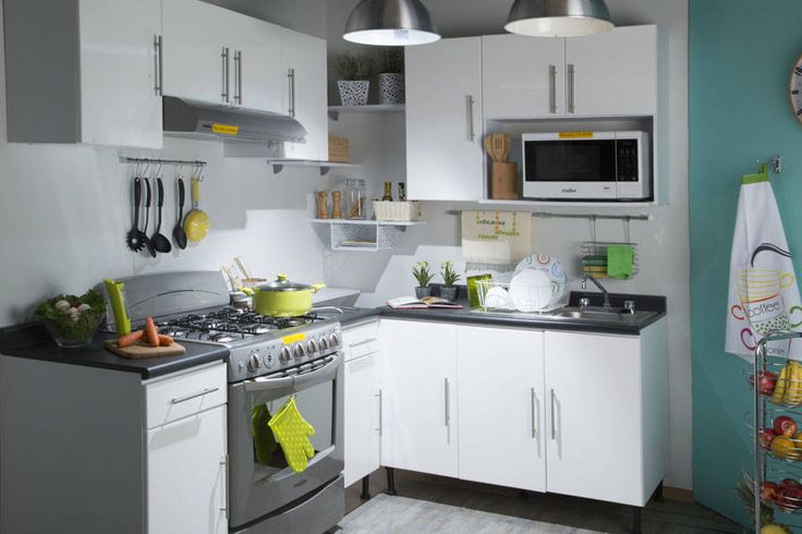6 Grandes ideas para cocinas chiquititas (de silvia m)