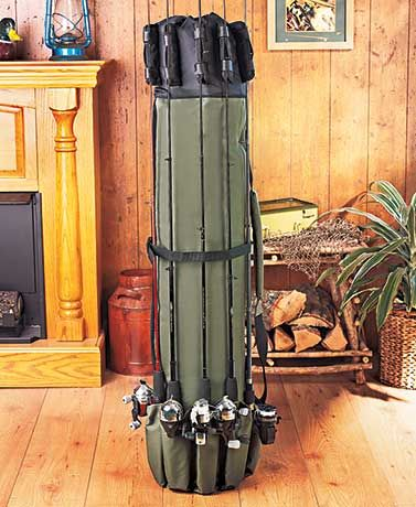 Ensure that your rods are well protected and secure when you travel with a Fishing Rod Case. It holds 5 rods on the outside, plus additional rods and other equipment inside. Mark this as the best gifts under 20 for him