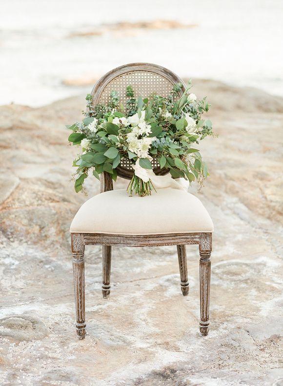 Coastal Bridal Session Ideas in Muted Tones | Wedding Sparrow | Jeanni Dunagan Photography
