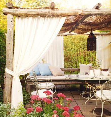 love outdoor roomsOutdoor Oasis, Outdoor Rooms, Outdoor Living Room, Dreams House, Gardens, Rustic Outdoor, Patios, Outdoor Spaces, Backyards