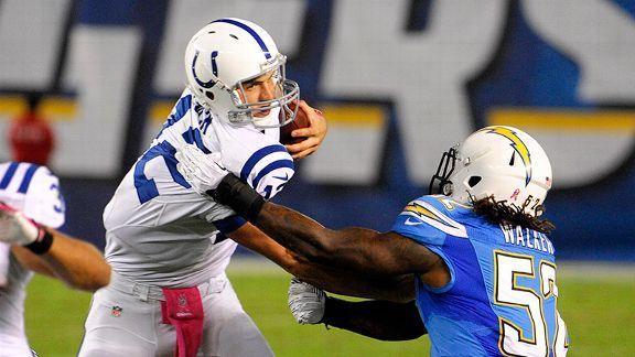 Indianapolis Colts week 6 | Monday Night Football 2013: Indianapolis at San Diego - Week 6 - ESPN