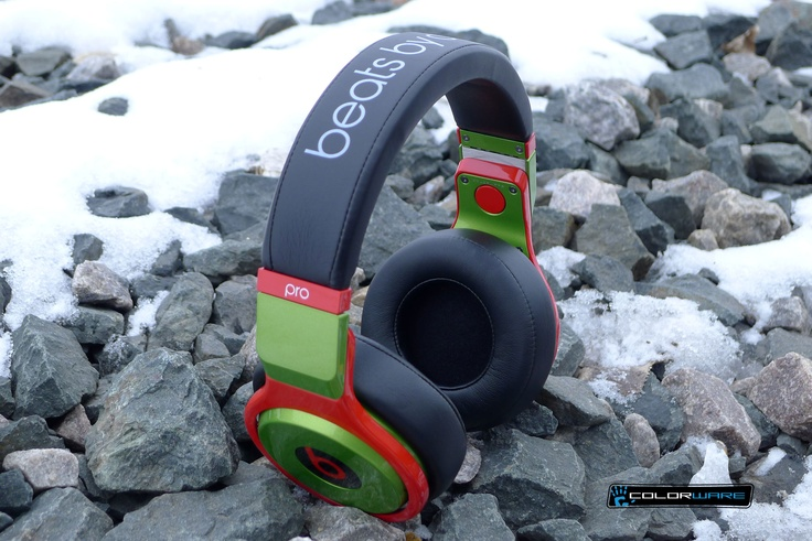 Baby it's still cold outside...warm up with a new pair of ColorWare custom Beats by Dre.