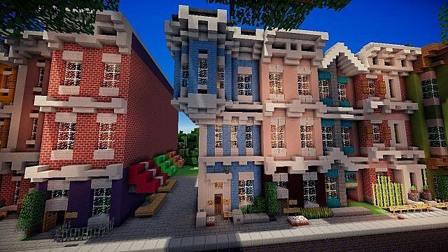 Victorian Townhouse ft. Getmoreland Minecraft Project