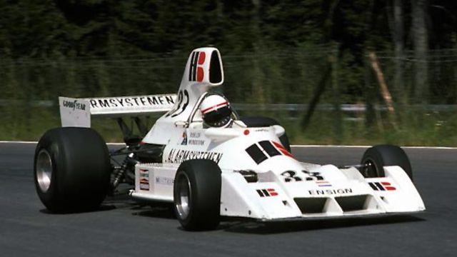 Roelof Wunderink - Dutch F1 driver