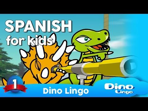 Learn Spanish for kids - Learning Spanish for children - Spanish language lessons - YouTube