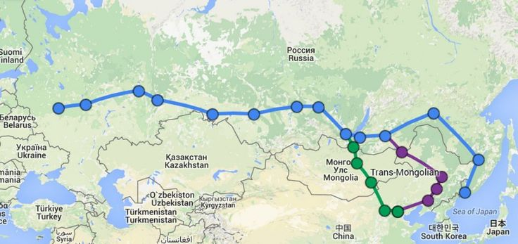How to plan a trip on the Trans Siberian railways. The longest trainrails in the world! Travel from Europe to Asia by train!