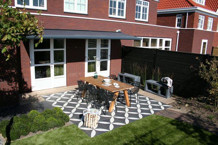 Duizendste terras met duostone: vtwonen buitentegels - vtwonen buitentegels